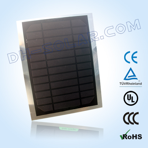 6W Mono Solar Panels for solar bag and other charging device.